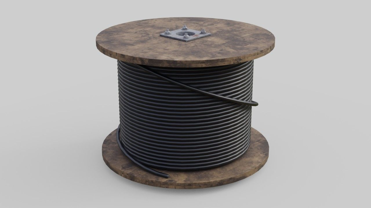3D model Cable Reel 2 | CGTrader