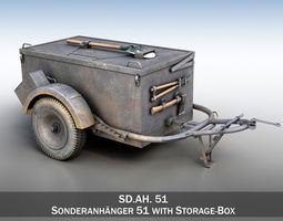 transport SD AH 51 - Trailer 3D model