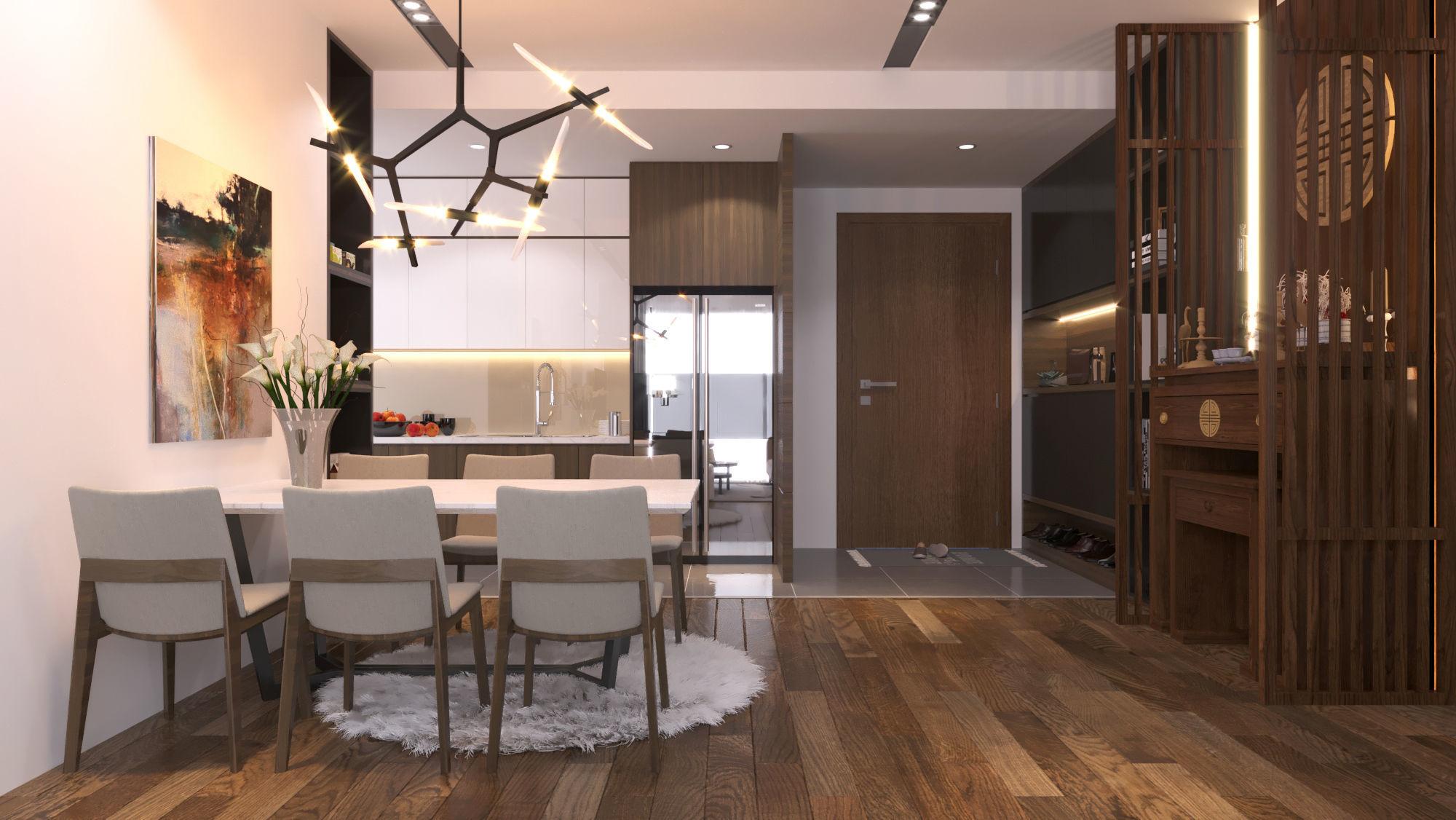 Living room gardenia living room for The model apartment review