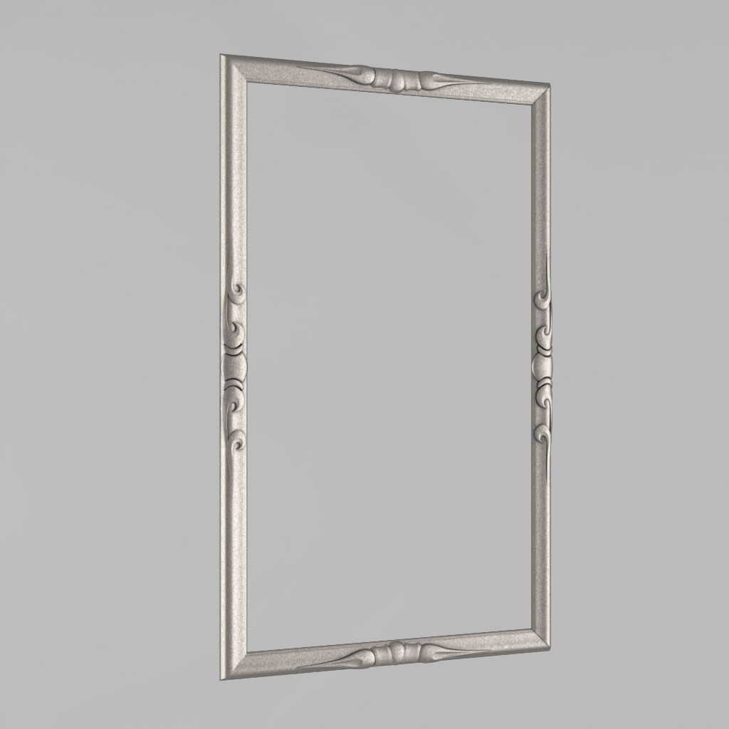 Frame for a mirror