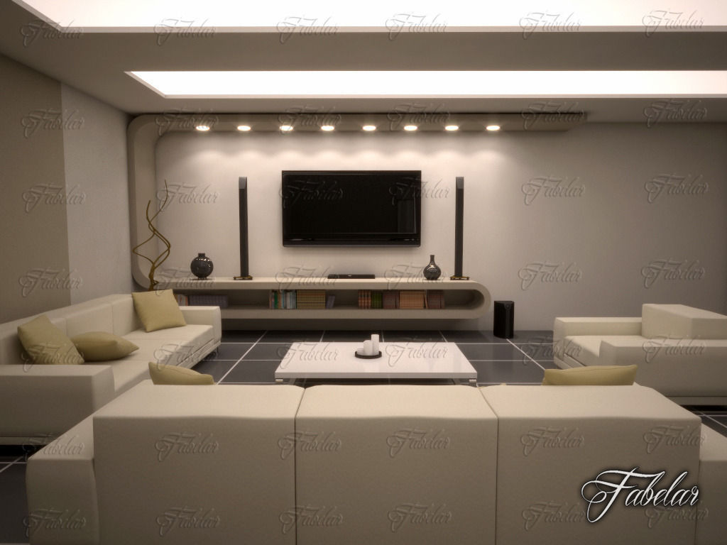 Living Room 10 living room at night | home decorating, interior design, bath