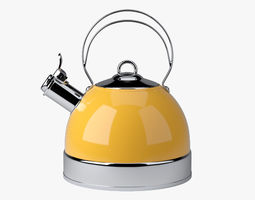 Stove Top Kettle 3D