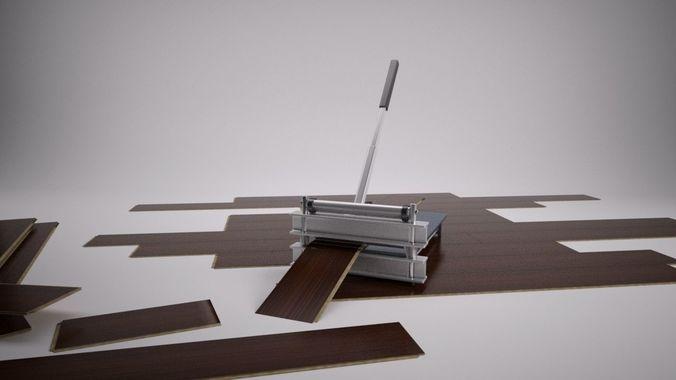 3d Laminate Floor Cutter Cgtrader