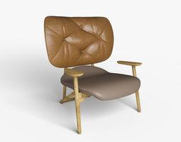 Moroso Klara Chair 3D model