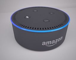 Amazon Echo Dot Black 3D model