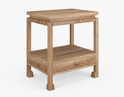 Reese Side Table 3D model