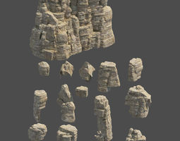 3D Rock Collection