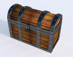 3D model Treasure Box