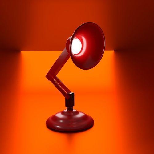 pixar lamp 3d model cgtrader