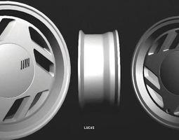 3D model Fiat Uno SCR Wheel
