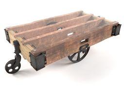 Coffee cart 3D model