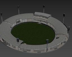 3D model Cricket Stadium
