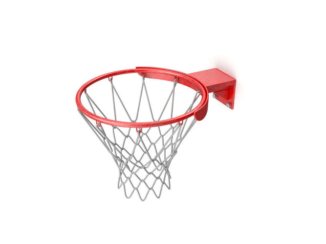 basketball ring 3d model max obj mtl 3ds fbx 1
