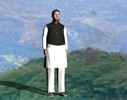 Deshi Model 3D asset