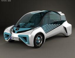 Toyota FCV Plus 2015 3D model