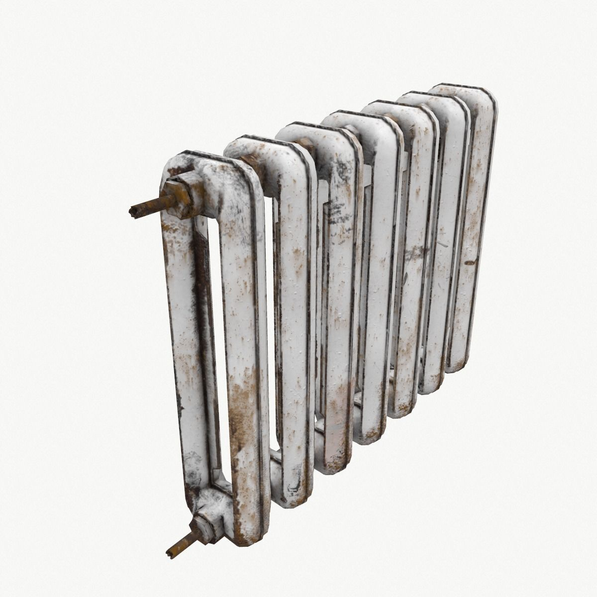 Rust Cast Iron Radiator