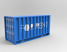 3D industial CONTAINER