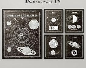 3D RH ASTRONOMY 101 ART poster