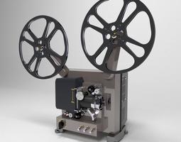 3D model models Film Projector