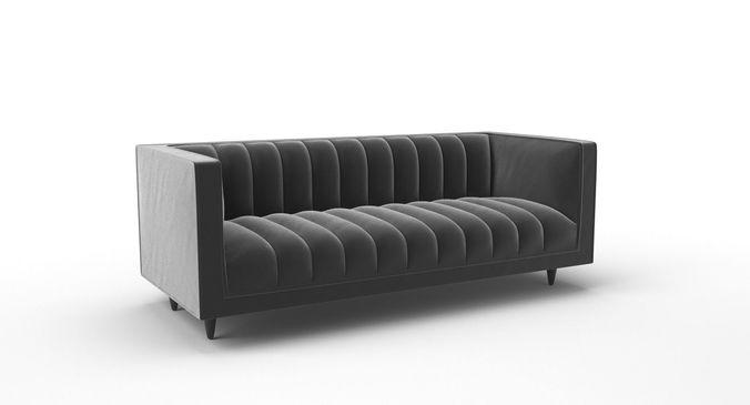 3d Fleure Sofa By Stuart Scott Cgtrader