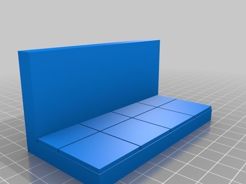Openforge Smooth Wall Tile Free 3d Model 3d Printable Stl