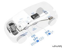 Diesel exhaust - Urea injection 3D Model