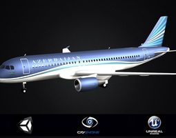 Airbus A320 family Aircraft family Commercial Jet 3D model
