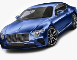 3D model Bentley Continental GT 2018