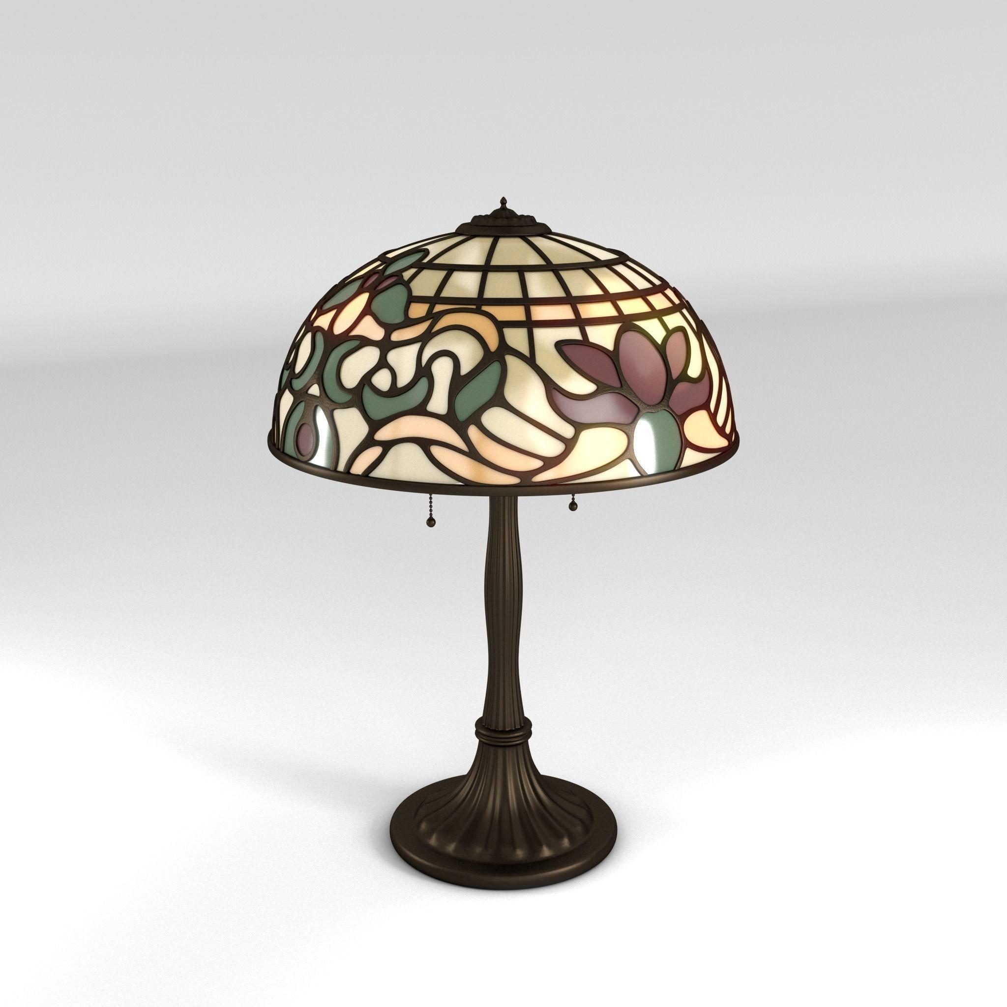 Art Nouveau Lamp 1