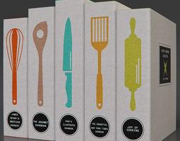 Classic Cookbooks 3D model