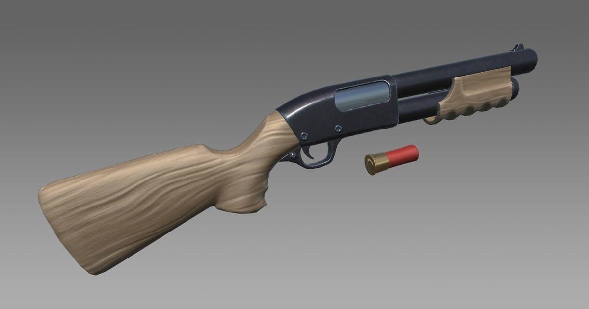 Stylized Shotgun