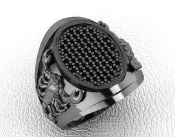 fashion man ring jewelry 10 3D printable model