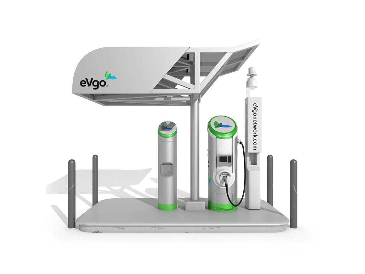 Electric Vehicle Charging Station eVgo