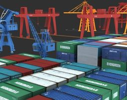 3D port transport equipment