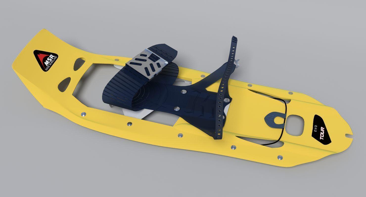 MSR Snowshoes 3D | CGTrader