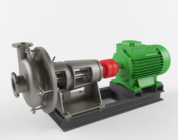 Pump industrial Fsh 3D