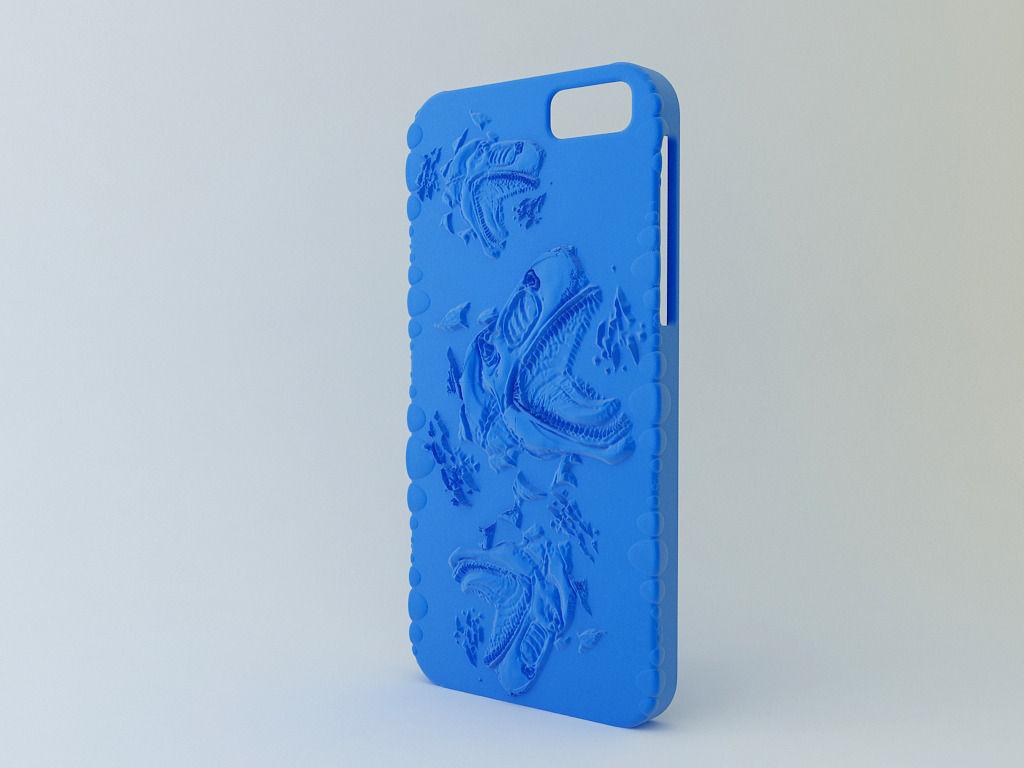 I phone 6 case model 5 3d model 3d printable stl for Modele case