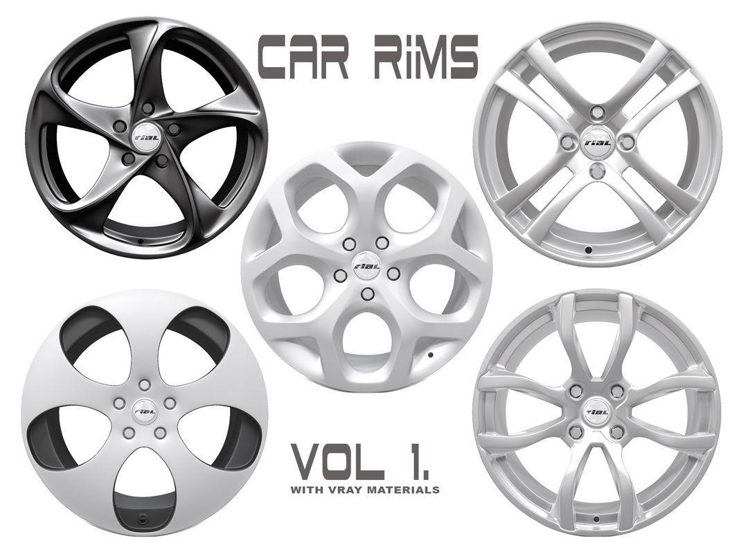 Car Rims - VOL 1