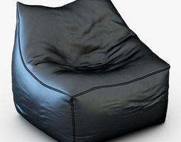 Pouf Coussin Jumbo Bag Cube 3D model