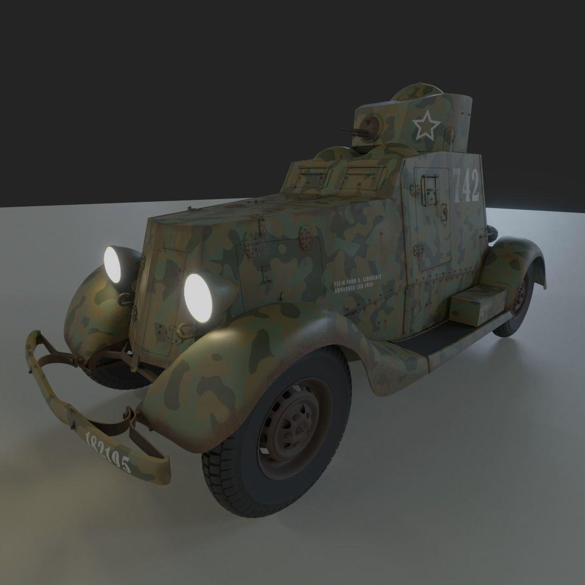 Armoured Car FAI-M