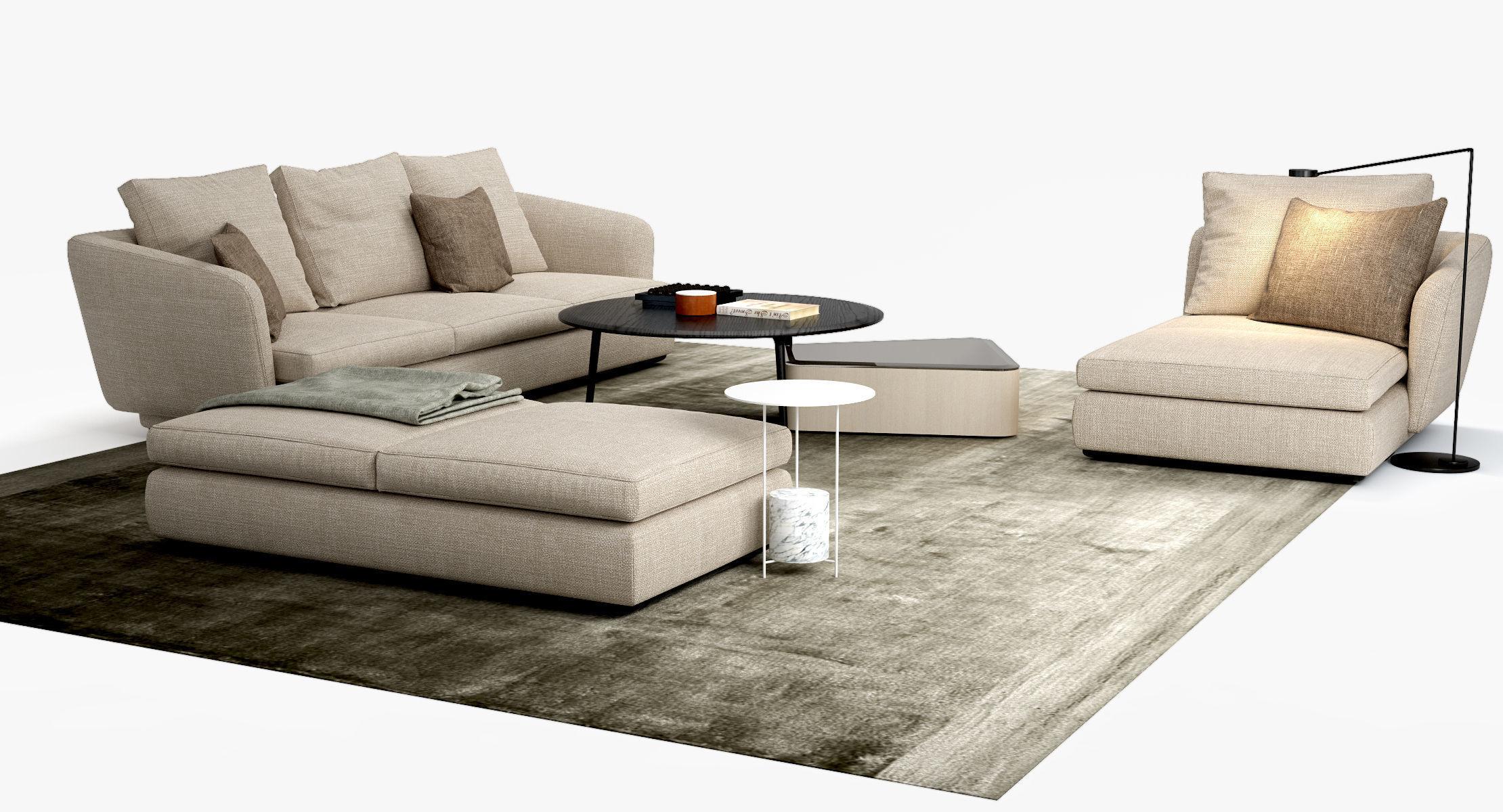 Molteni C Sloane Sofa Belsize Table Set