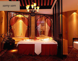 3D asset luxury spa