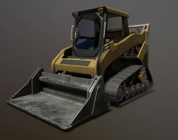 Skid Loader 3D asset
