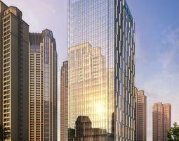 Skyscraper business building 001 3D