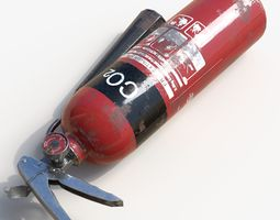 other Fire extinguisher 3D model VR / AR ready