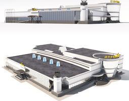 3D Shopping center trade