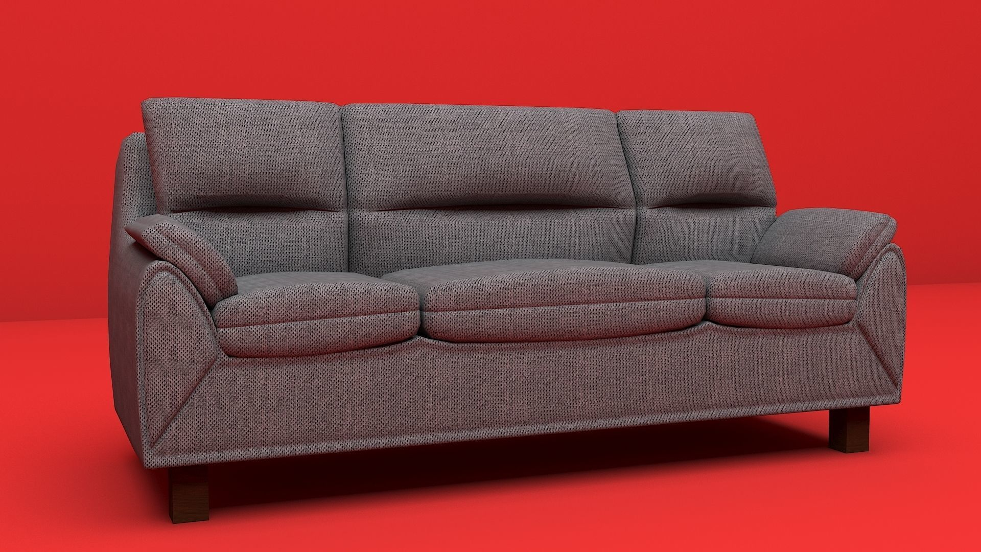 Sofa furniture modern sofa interior object 3d model