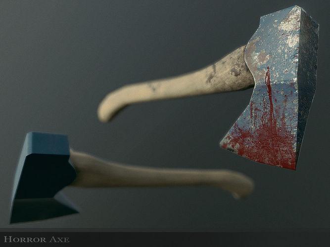 Horror Axe Weapon