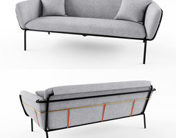 3D Sofa 01