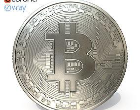 Bitcoin metal 3D